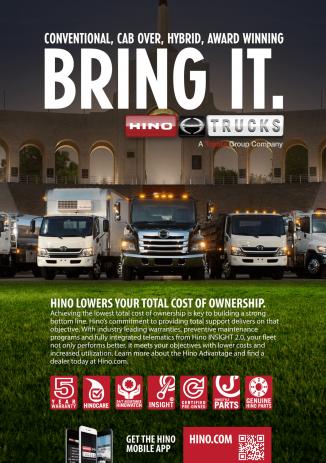 Hino Truck Full Fleet